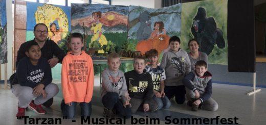 Musical beim Sommerfest
