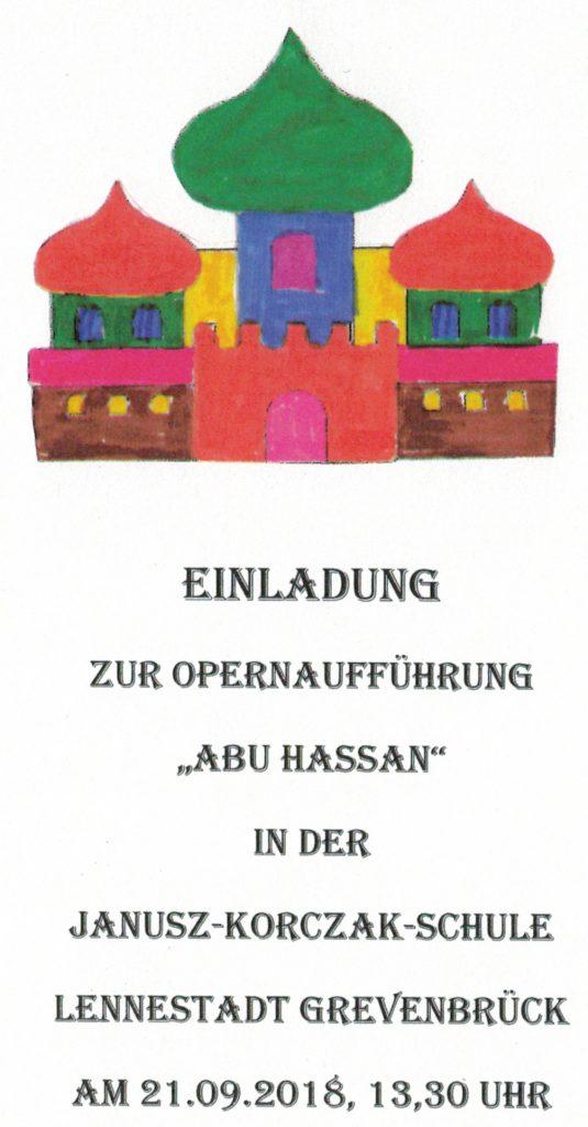 Janusz-Korczak-Schule führt eine Oper auf